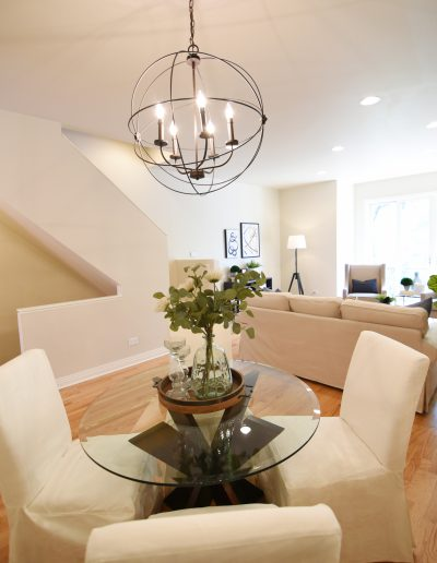 Project: Chicago Townhome Vacant Staging Dining Room - Style It Home, LLC