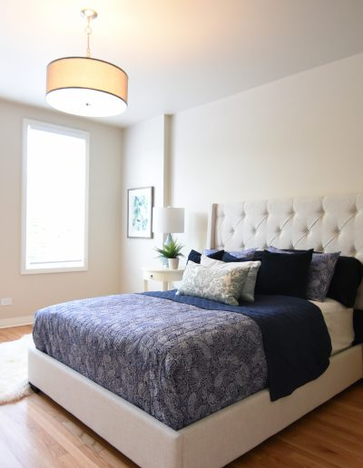 Chicago Townhome Vacant Staging - Style It Home, LLC