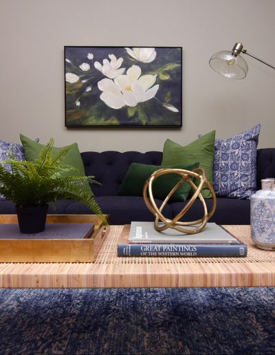 St. Charles Move-In Redesign: Living Room - Style It Home, LLC