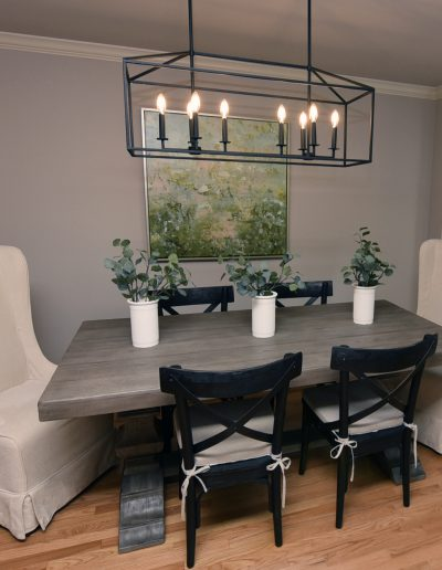 St. Charles Move-In Redesign Dining Room - Style It Home, LLC