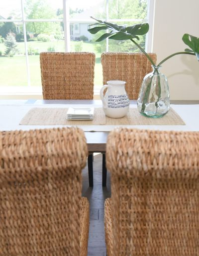 Fox Valley Vacant Staging Kitchen Table - Style It Home, LLC