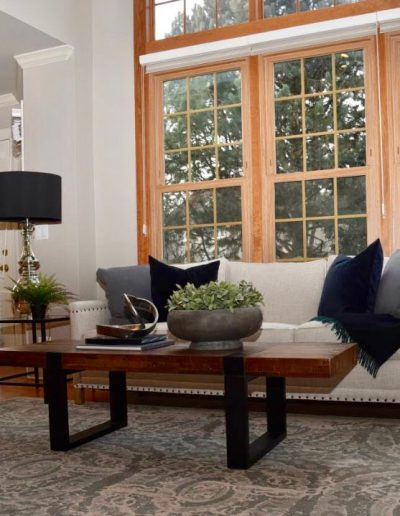 St. Charles Move-In Redesign Living Room - Style It Home, LLC