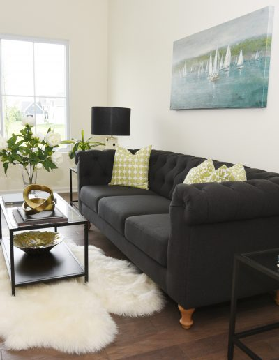 Fox Valley Vacant Staging Living Room - Style It Home, LLC
