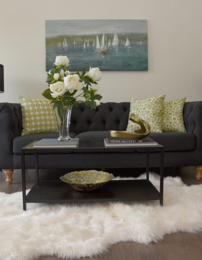 Fox Valley Vacant Staging: Living Room - Style It Home, LLC